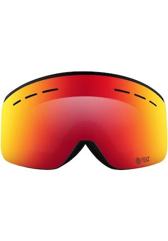 YEAZ Skibrille »RISE«, schwarz kaufen