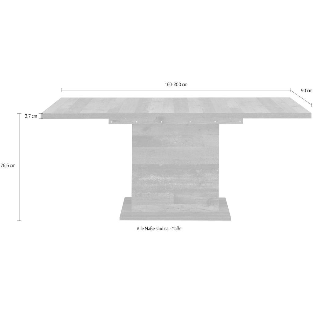 FORTE Esstisch, Breite 160 cm