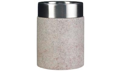 RIDDER Zahnputzbecher »Stone«, Durmesser 7,5 cm kaufen