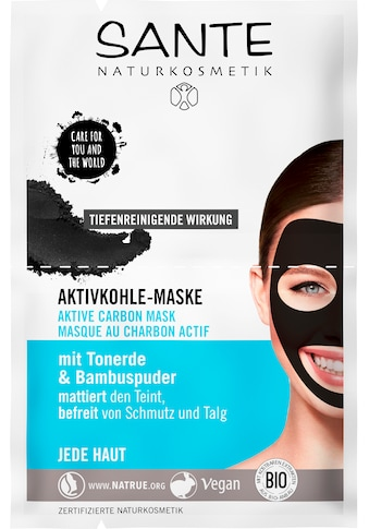 SANTE Gesichtsmaske »Aktivkohle-Maske« kaufen