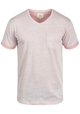 REDEFINED REBEL V-Shirt »Moses«, Kurzarmshirt mit Brusttasche kaufen