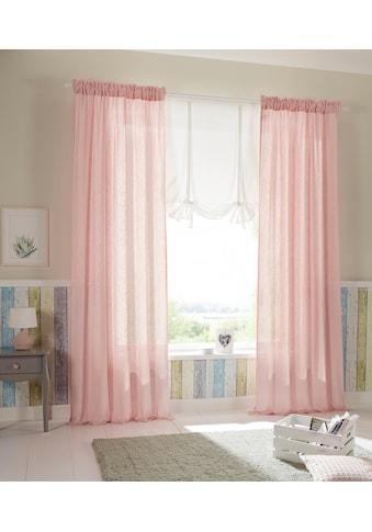 Home affaire Vorhang »Esra«, Bio-Baumwolle kaufen