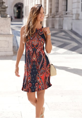 LASCANA Jerseykleid, mit Alloverprint kaufen