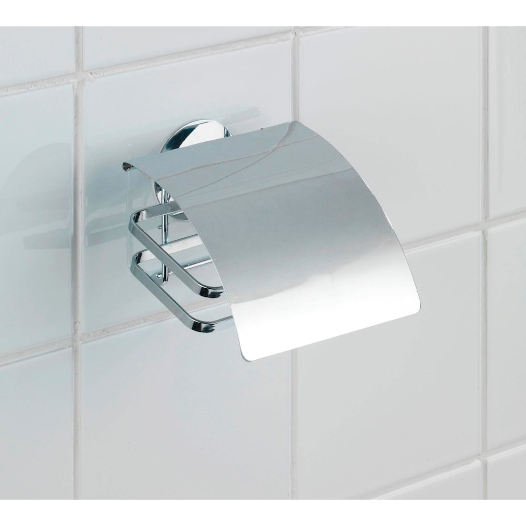 WENKO Toilettenpapierhalter »Cover«, Turbo-Loc