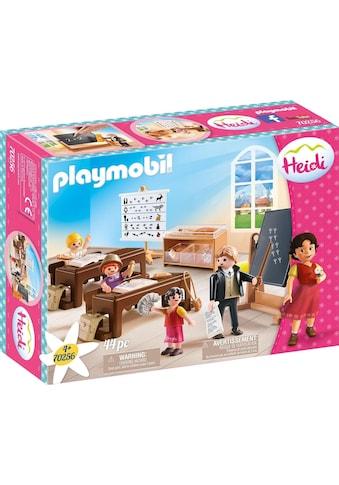 Playmobil® Konstruktions-Spielset »Schulunterricht im Dörfli (70256), Heidi«, ; Made... kaufen