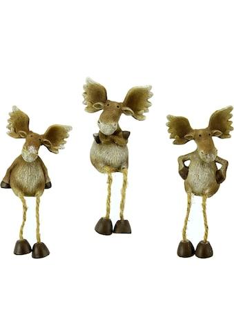 I.GE.A. Tierfigur »Elch«, Kantenhocker kaufen