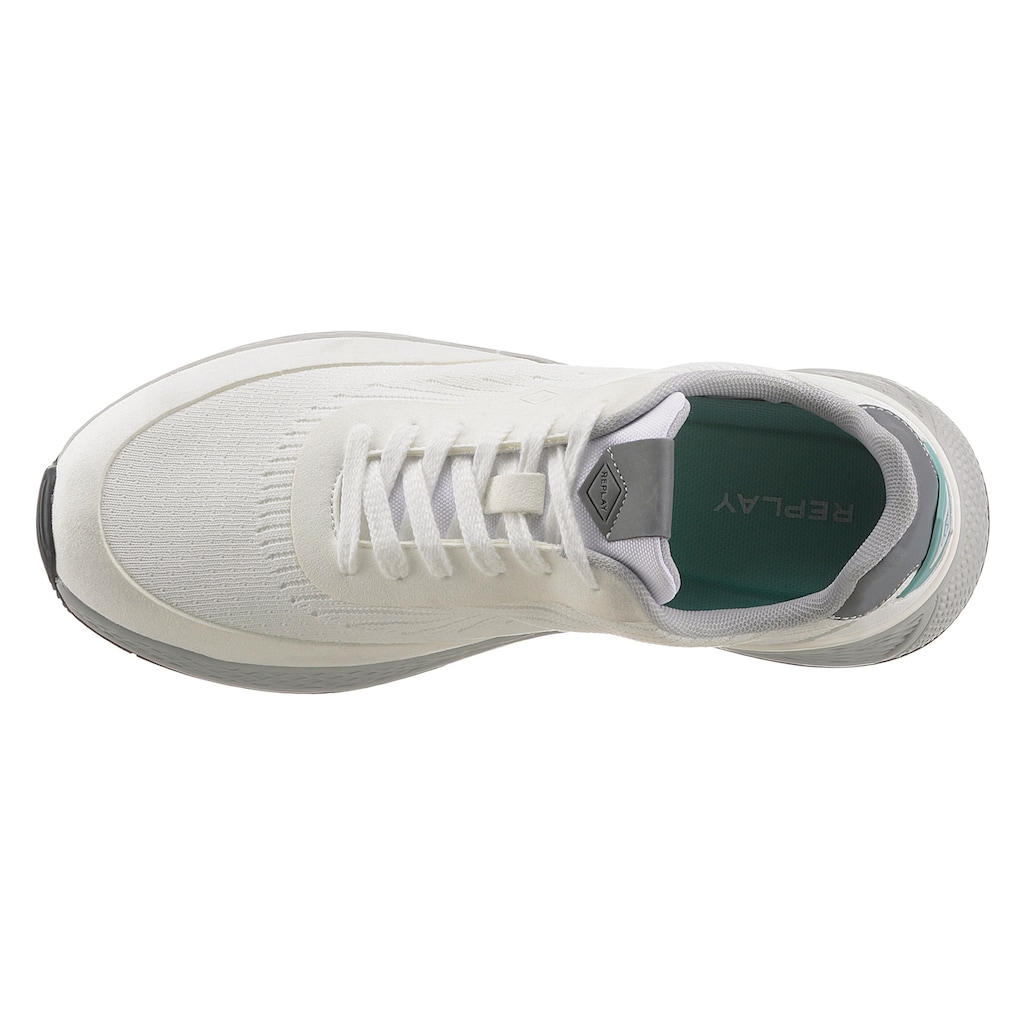 Replay Sneaker, in sportivem Look