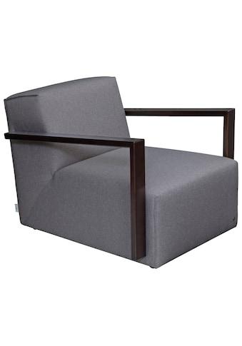 TOM TAILOR Loungesessel »LAZY«, Armlehne wengefarben kaufen