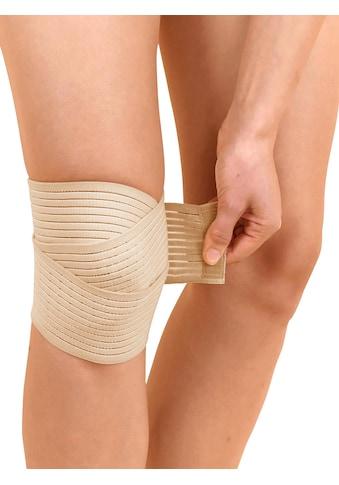 Kniegelenk-Stützbandage mit Fixierbändern kaufen