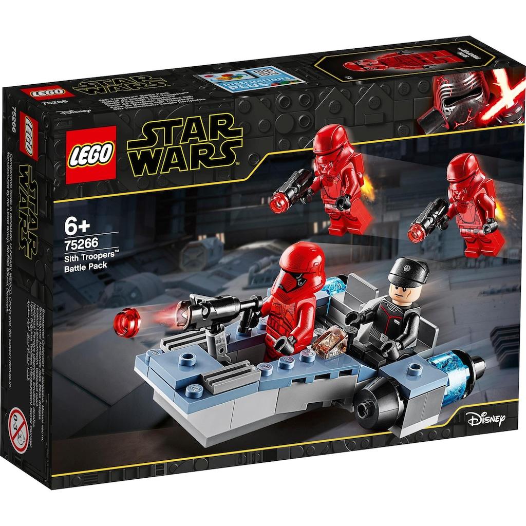LEGO® Konstruktionsspielsteine »Sith Troopers™ Battle Pack (75266), LEGO® Star Wars™«, (105 St.)