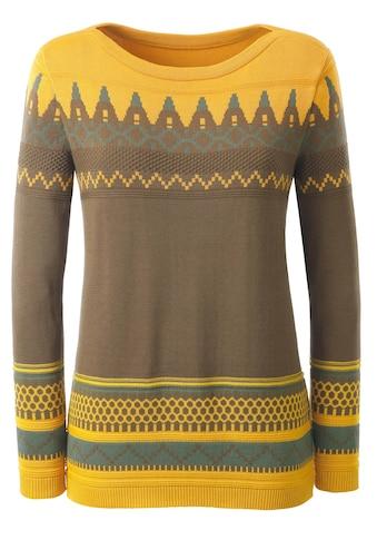 Casual Looks Rundhalspullover »Pullover« kaufen