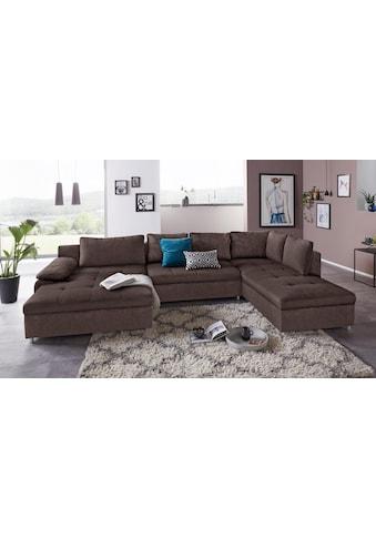 sit&more Wohnlandschaft »Labene«, wahlweise mit Bettfunktion und Bettkasten kaufen