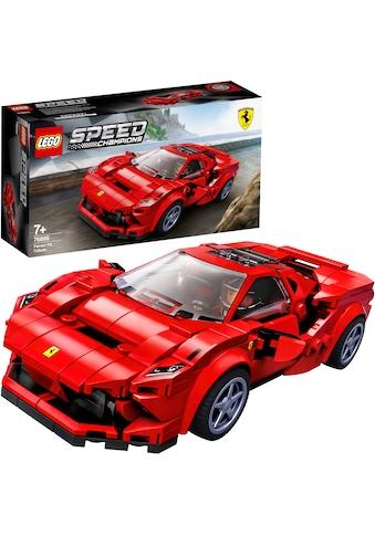 LEGO® Konstruktionsspielsteine »Ferrari F8 Tributo (76895), LEGO® Speed Champions«,... kaufen