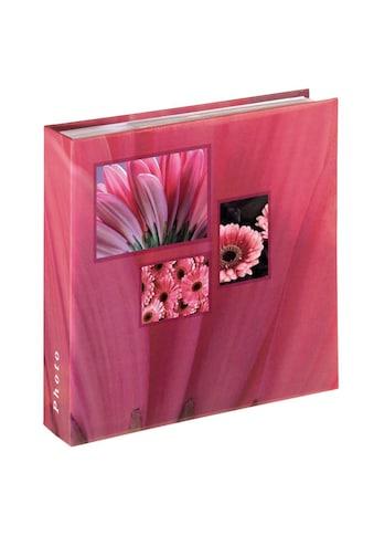 "Hama Fotoalbum »Fotoalbum ""Singo""«, für 200 Fotos im Format 10x15 cm, Pink kaufen"