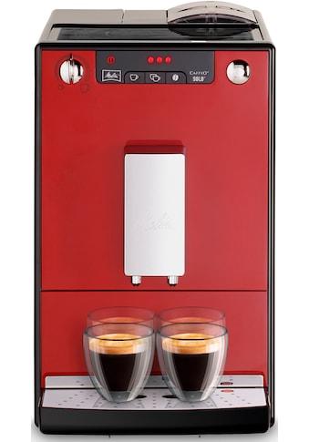 Melitta Kaffeevollautomat »CAFFEO® Solo® E 950-104 Chili Red« kaufen