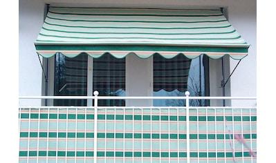 Angerer Freizeitmöbel Balkonsichtschutz, Meterware, beige/grün, H: 90 cm kaufen
