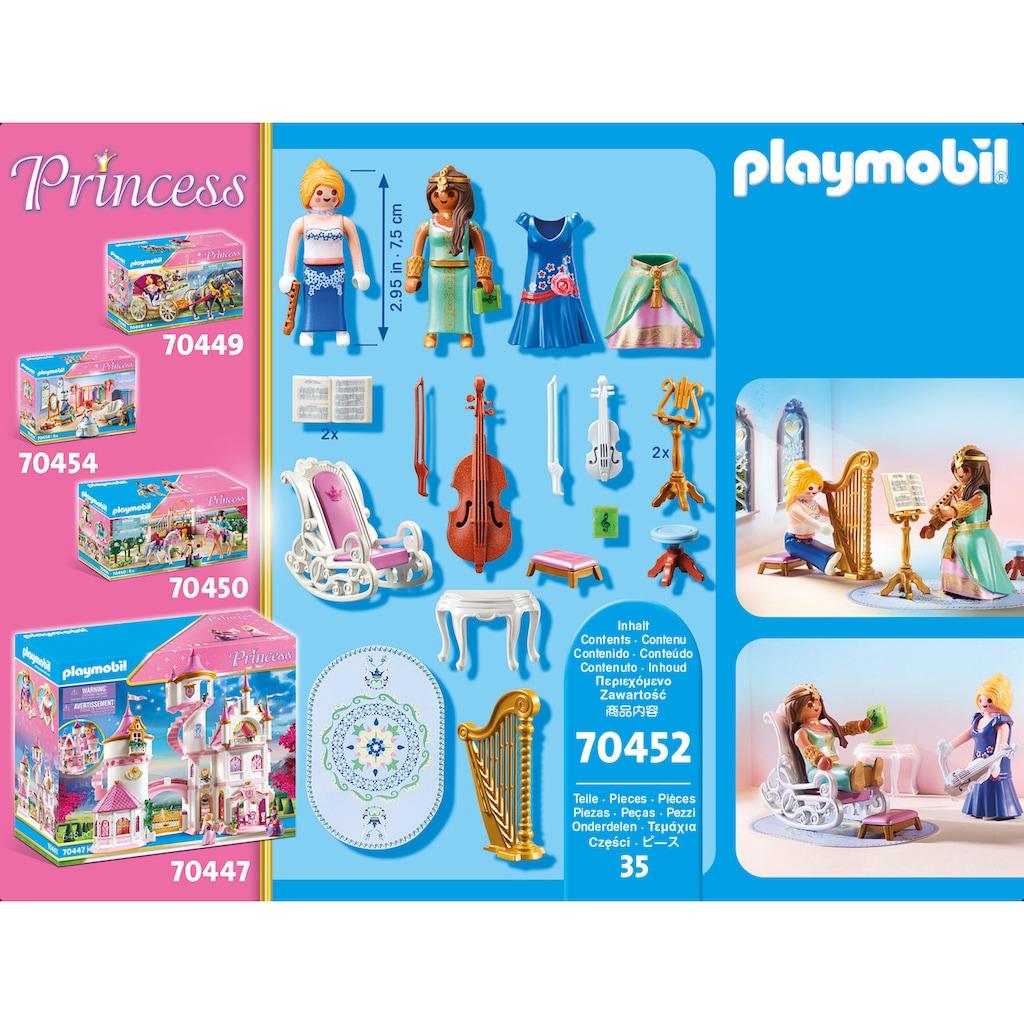 Playmobil® Konstruktions-Spielset »Musikzimmer (70452), Princess«, (35 St.), Made in Europe