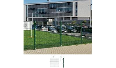 GAH Alberts Doppelstabmattenzaun, 120 cm hoch, 5 Elemente für 10 m kaufen