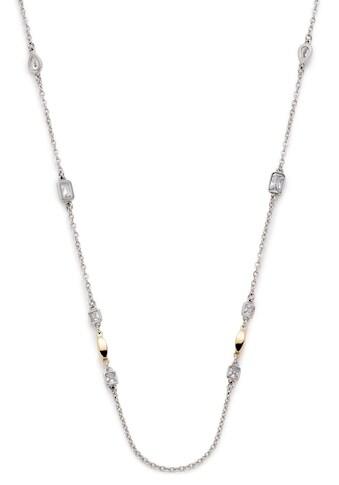 LEONARDO Edelstahlkette »Dora, 016975«, mit Kristallsteinen kaufen