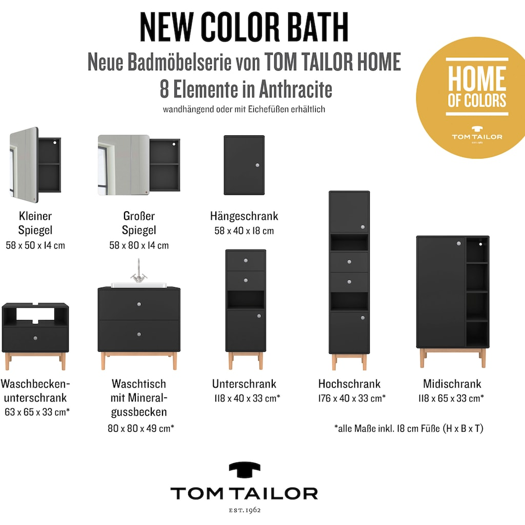 TOM TAILOR Spiegelschrank »COLOR BATH«