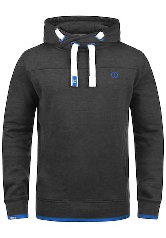 Solid Hoodie »Benjamin Hood«, Kapuzensweatshirt mit Cross-Over Kragen kaufen