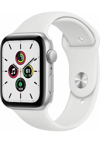 Apple Smartwatch »Series SE (2021), GPS, Aluminium-Gehäuse, 44 mm mit Sportarmband« kaufen