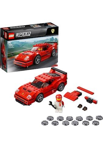 """LEGO® Konstruktionsspielsteine """"Ferrari F40 Competizione (75890), LEGO® Speed Champions"""", Kunststoff kaufen"""