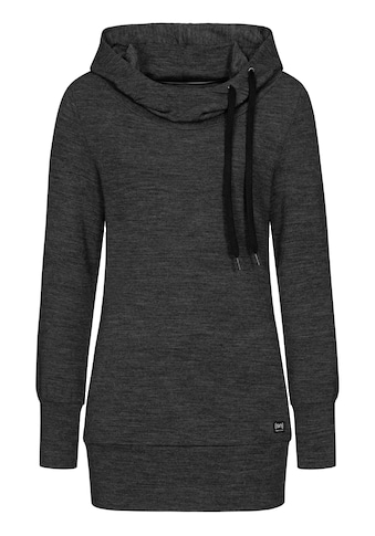 SUPER.NATURAL Kapuzensweatshirt »W ESSENTIAL TUNNEL HOODIE«, perfekter Merino-Materialmix kaufen