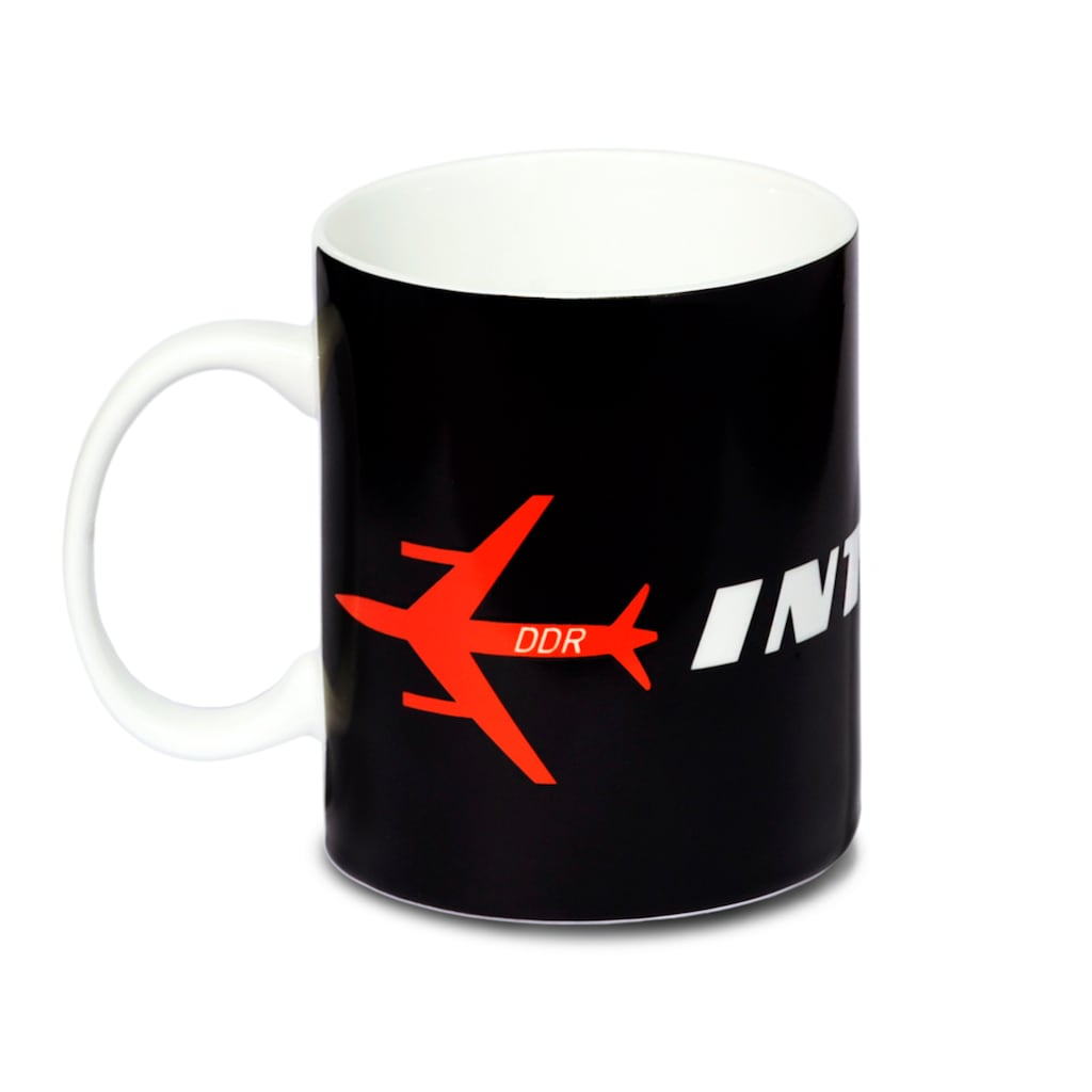 LOGOSHIRT Tasse mit Airlines-Print