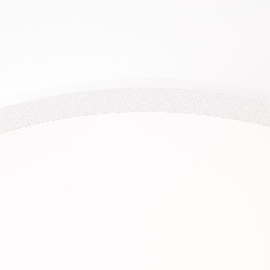 Brilliant Leuchten Buffi LED Deckenaufbau-Paneel 25cm sand/weiß/kaltweiß