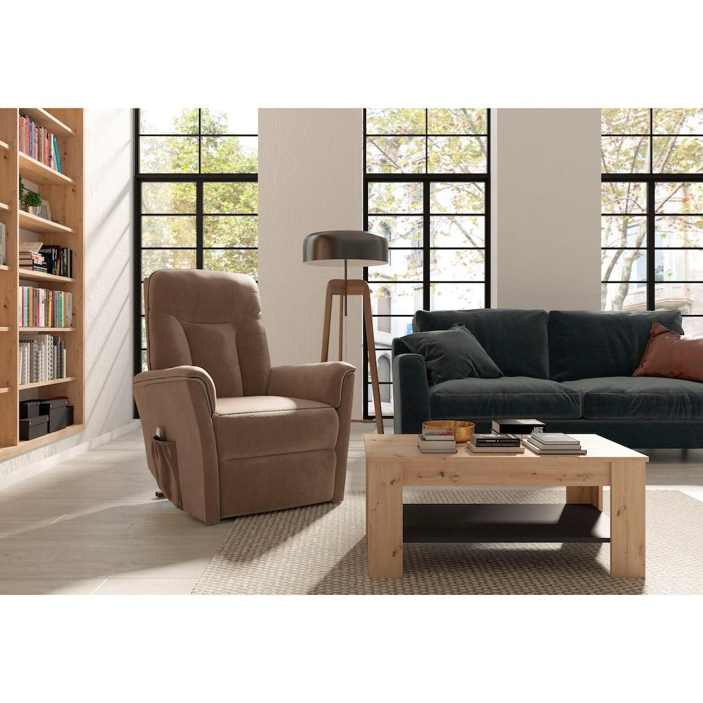 Homexperts Couchtisch »Zabona«, mit Ablageboden