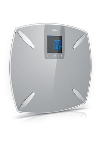 MyBeo Glas Diagnosewaage »Digital-Multifunktionswaage / Max. 180 kg« kaufen