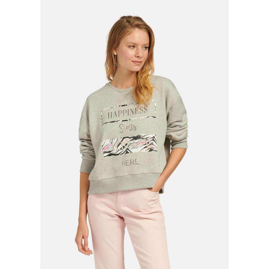 MYBC Sweatshirt »Sweatshirt«, mit Front-Print