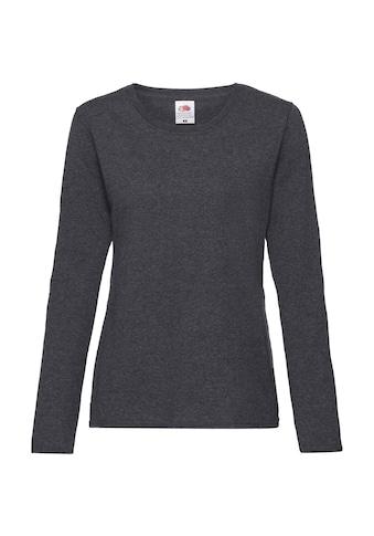 Fruit of the Loom T-Shirt »Lady-Fit Valueweight Damen, langarm« kaufen