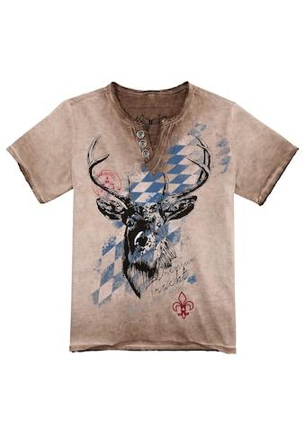 Hangowear Trachtenshirt, Kinder im Used Look kaufen