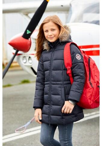 TOM TAILOR Polo Team Steppjacke, in bequemer Weite - leicht tailliert kaufen