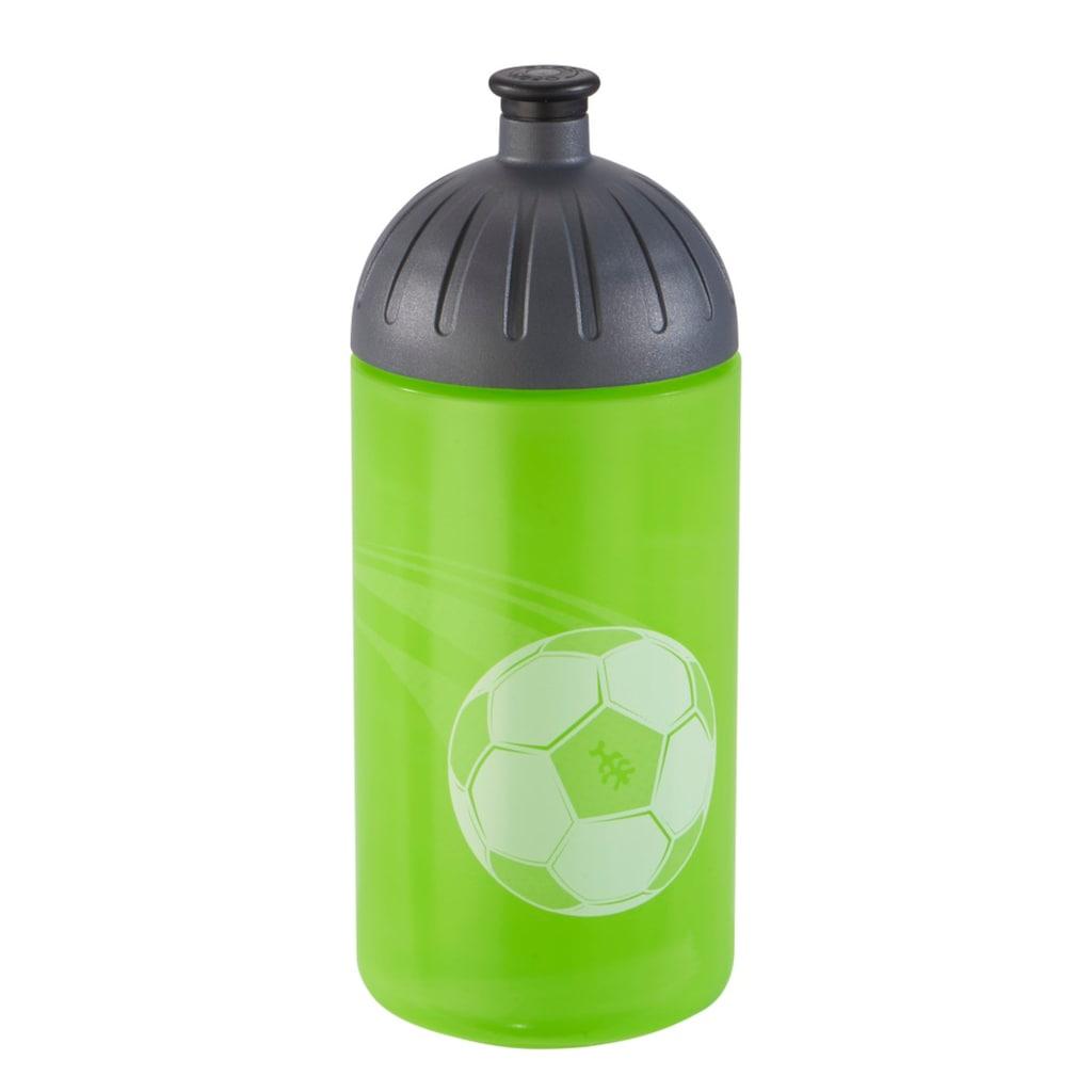 FreeWater Trinkflasche »Schule Kindergarten«, Soccer Star, Grün