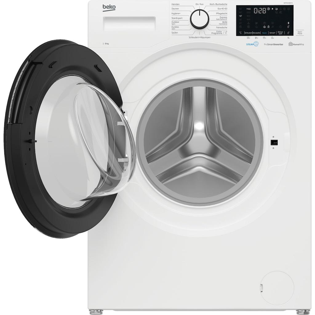 BEKO Waschmaschine »WMO91465STR1«, WMO91465STR1, 9 kg, 1400 U/min