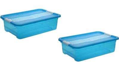 keeeper Aufbewahrungsbox »cornelia«, (Set, 2 St.), mit Deckel, 28 Liter kaufen