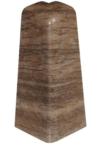 EGGER Außenecke »Nußbaum braun«, Außeneck - Element für 6 cm Sockelleiste, 2 Stk kaufen