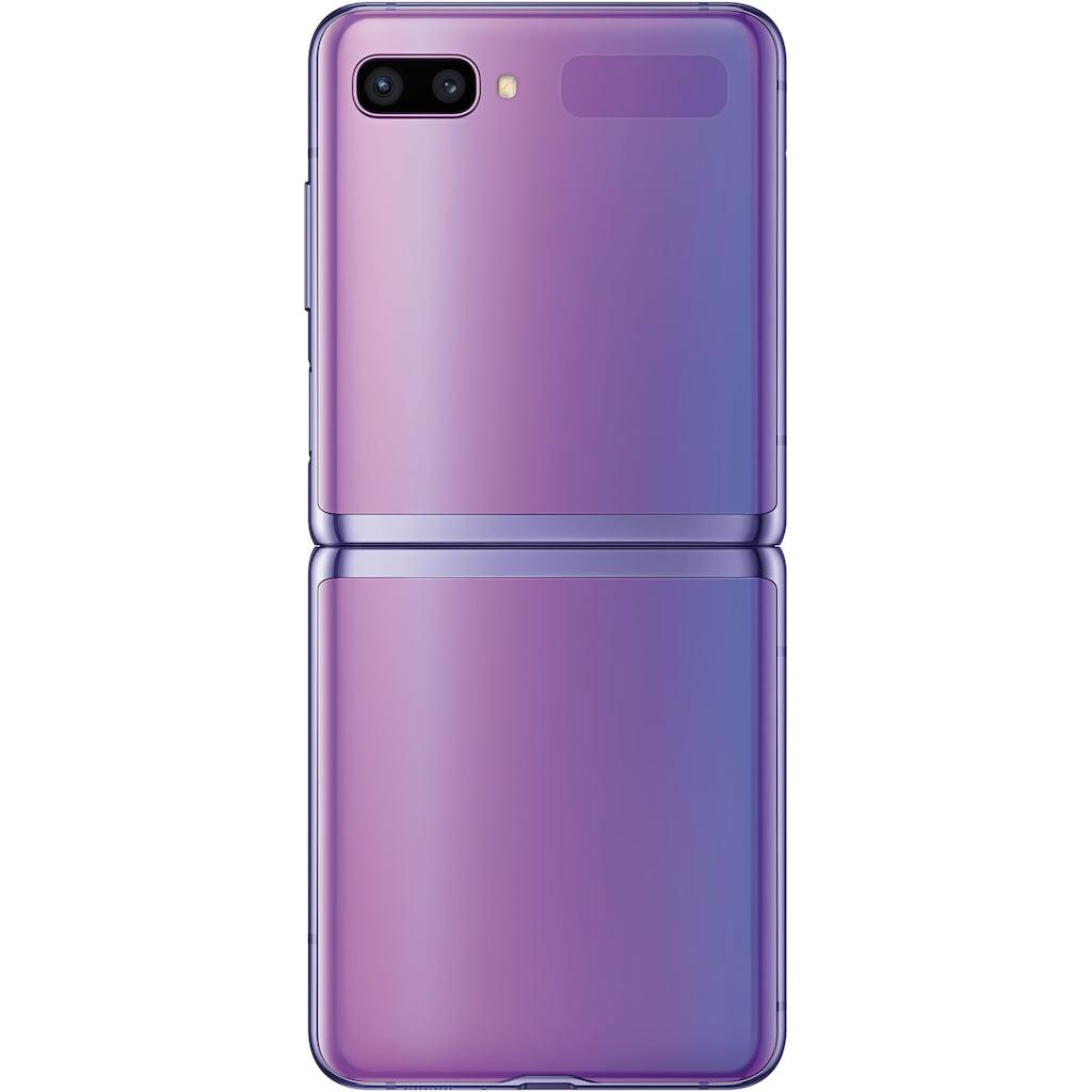 "Samsung Smartphone »Galaxy Z Flip«, (17,03 cm/6,7 "", 256 GB, 12 MP Kamera)"