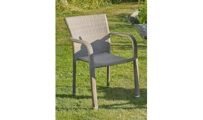 DESTINY Sessel »Carlos«, Polyrattan, stapelbar kaufen