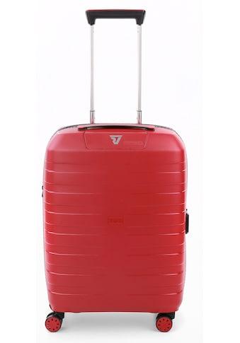 RONCATO Hartschalen-Trolley »BOX 4.0, 55 cm«, 4 Rollen, mit Volumenerweiterung; Made... kaufen