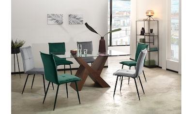 my home Esstisch »Melinda«, in zwei unterschiedlichen Farbvarianten auswählbar, in... kaufen