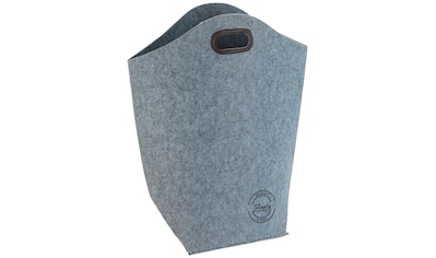 WENKO Wäschekorb »Filz«, BxTxH: 45x25x60 cm, 42 Liter kaufen