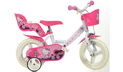 Hello Kitty Kinderfahrrad »Hello Kitty«, mit Lenkerkorb + Puppensitz kaufen