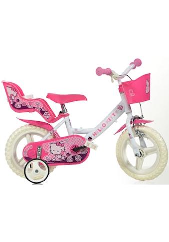 Hello Kitty Kinderfahrrad »Hello Kitty«, mit Lenkerkorb + Puppensitz kaufen