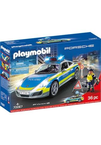 Playmobil® Konstruktions-Spielset »Porsche 911 Carrera 4S Polizei (70067), City... kaufen