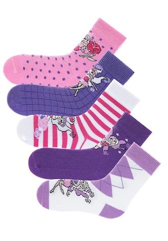 H.I.S Socken, (5 Paar), in 5 farbenfrohen Designs kaufen