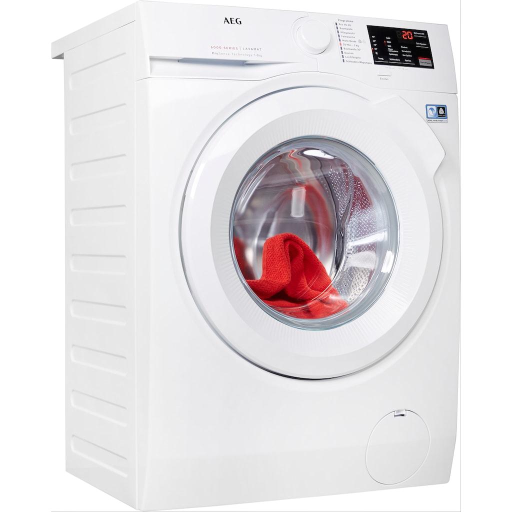 AEG Waschmaschine, L6FBA5480, 8 kg, 1400 U/min